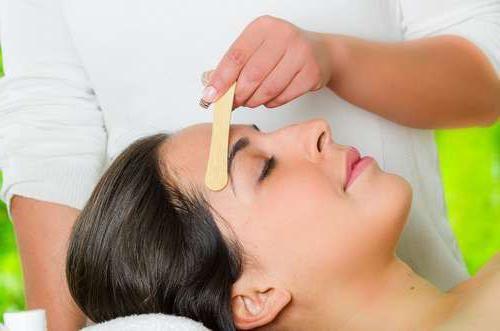 voska traka za pregled depilacije