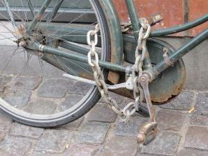 zaključavanje bicikla
