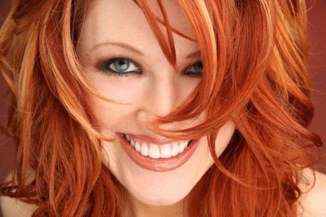 tonovi crvene kose