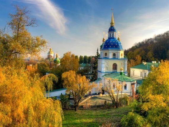 Выдубицкий монастырь - как доехать. Лечебница Выдубицкого монастыря