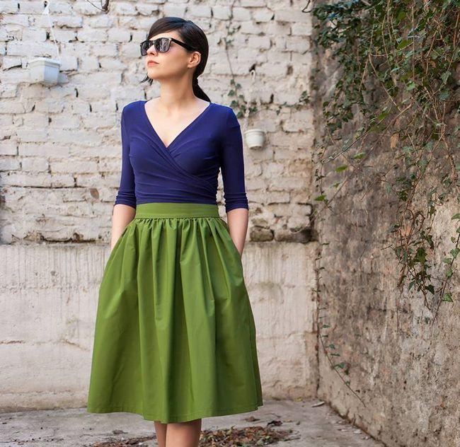 Jednostavna i praktična suknja s džepovima