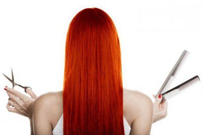 Na fotografiji završava kosa s bijelim vrhom