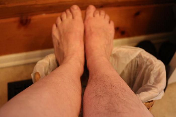 zašto kosa raste na nogama