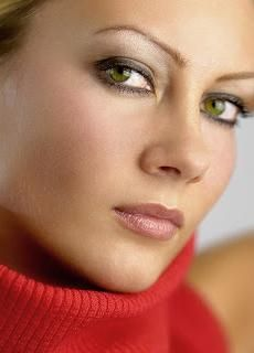 boja sjena za zelene oči