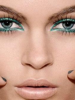 Šminka zelenih očiju