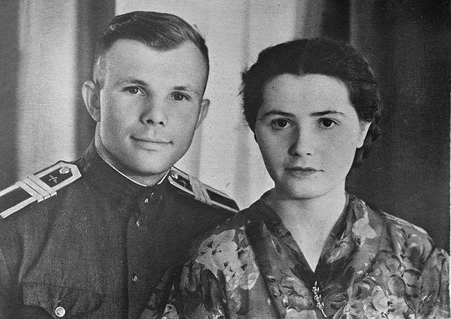 Жена Гагарина. Валентина Ивановна Гагарина: биография и фото
