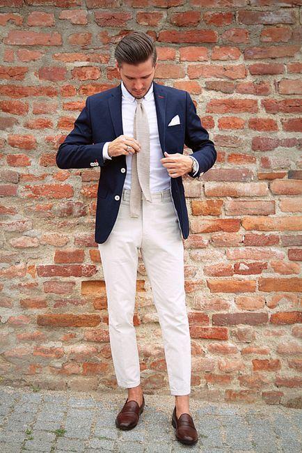 Poslovni ljetni stil muške odjeće