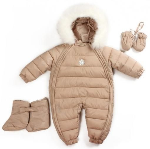 zimske dječje odijele s prirodnim krznom