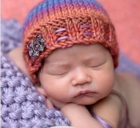 Zimske kape za novorođenčad