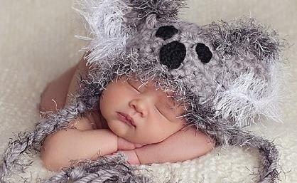 Foto kape za novorođenčad