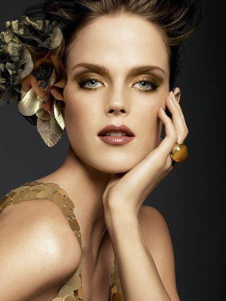 make-up u zlatnim tonovima